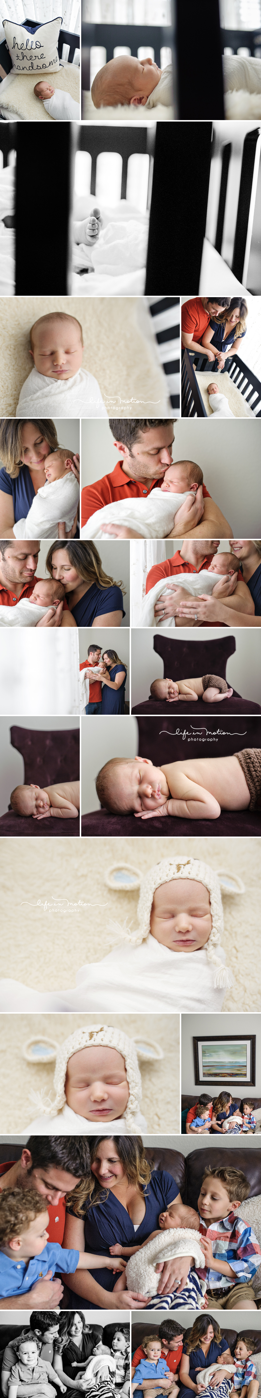 austin newborn baby family photographer