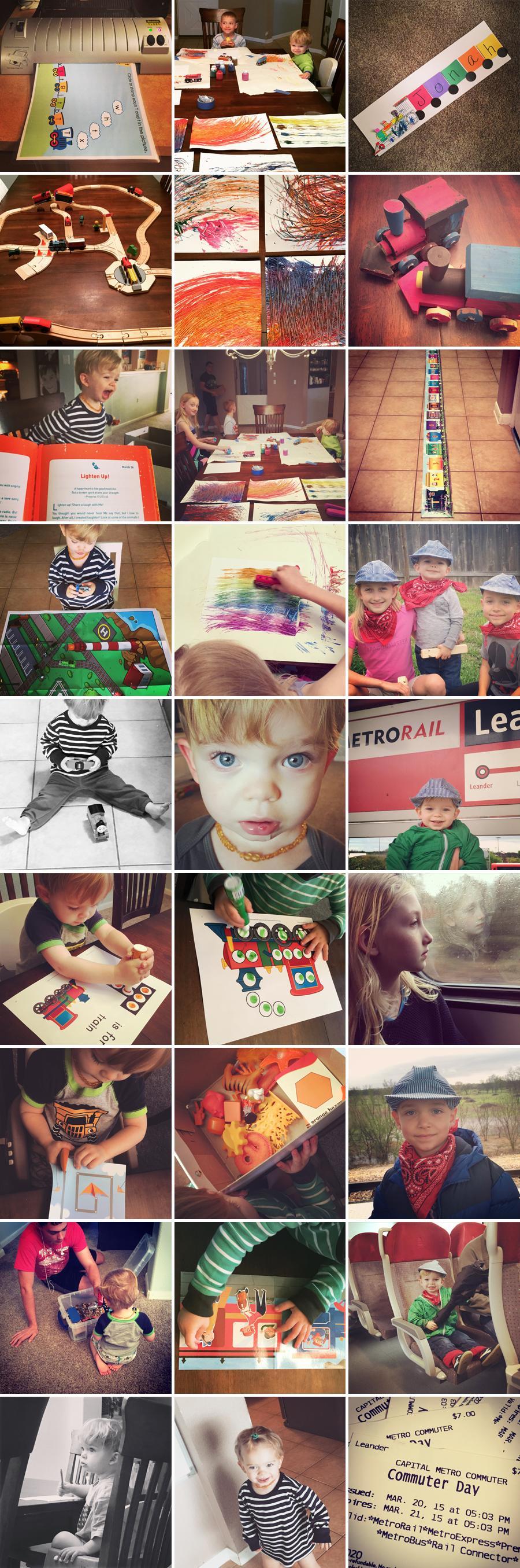 preschool train week