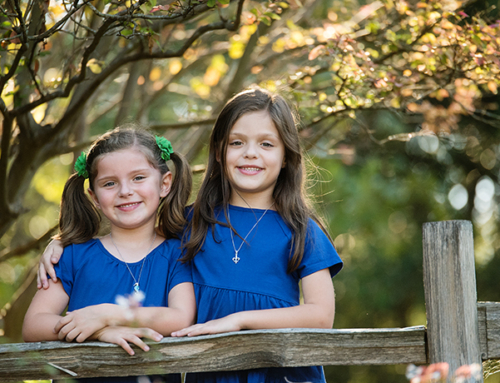 glimpse of fall | georgetown family photographer