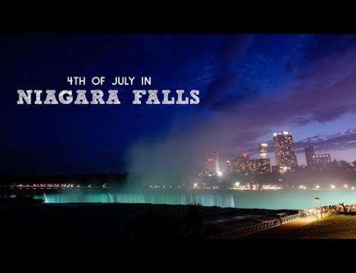 July 4th, Minute To Win It Games & Niagara Falls Fireworks | Full Time RV Family