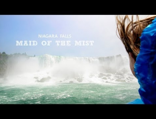 Niagara Falls Boat Ride – The Falls Up Close!  | Full Time RV Family