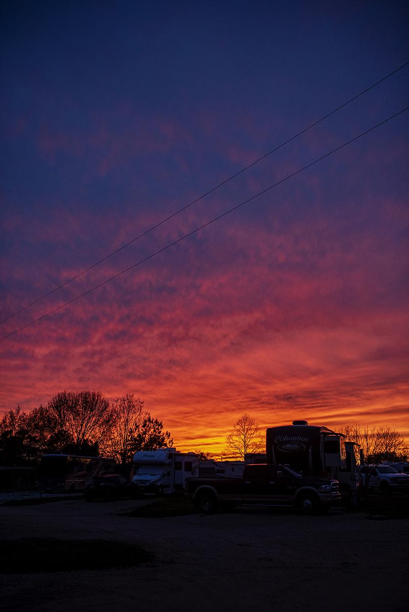 photo of texas sunset