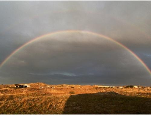 Double Rainbow in Nags Head North Carolina