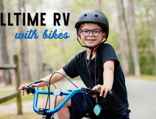 Fulltime RV with bikes