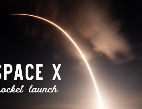 Space X Rocket Launch Night Viewing